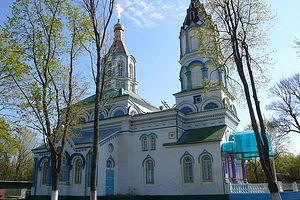 St. Elias Church in the Chernobyl exclusion zone.
